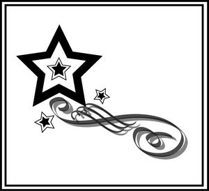 Nice Star Tattoos Design With Image All Star Tattoo Designs Picture 2