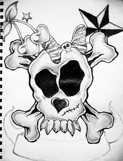 Nice Star Tattoos With Image Tattoo Designs Especially Skull Star Tattoo Picture 10