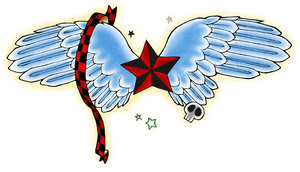 Nice Star Tattoos With Image Tattoo Designs Especially Star Wings Tattoo Picture 3