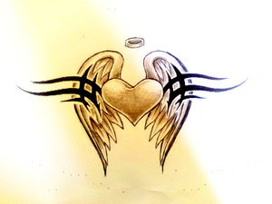 Heart Tattoos With Image Heart Tattoo Designs Especially Heart Tribal Tattoo Picture 6