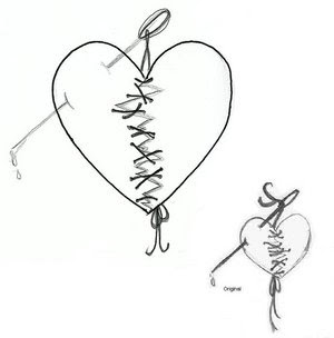 Heart Tattoos With Image Heart Tattoo Designs Especially Broken Heart Tattoo Picture 7