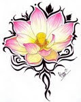 Amazing Flower Tattoo With Image Flower Tattoos Design Picture 9