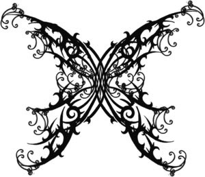 Nice Butterfly Tattoo With Image Butterfly Tattoos Design Picture 1