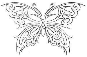 Nice Butterfly Tattoo With Image Butterfly Tattoo Designs Picture 4