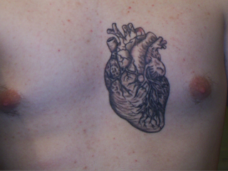 Heart Tattoos With Image Male Tattoo With Heart Tattoo Designs On The Body Picture 3