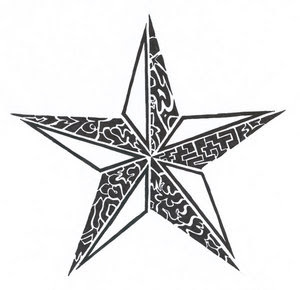 Cool Star Tattoo Designs Gallery 9