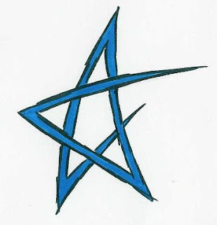 Colors tattoo designs nice star tattoos with image tattoo for Tribal star tattoo