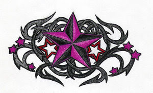 Nice Star Tattoos With Image Tattoo Designs Especially Star Tribal Tattoo Picture 5