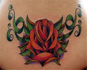 Amazing Flower Tattoos With Image Flower Tattoo Designs For Lower Back Flower Tattoo Picture 6
