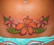 Amazing Flower Tattoos With Image Flower Tattoo Designs For Lower Back Flower Tattoos Picture 3