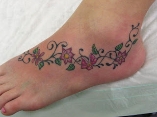 Amazing Flower Tattoos With Image Flower Tattoo Designs For Female Tattoo With Foot Flower Tattoo Picture 9