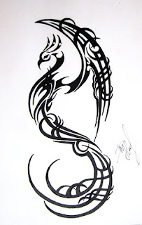 Japanese Tattoos With Image Japanese Tattoo Designs For Japanese Female Tattoo And Japanese Male Tattoo With Japanese Tribal Phoenix Tattoo Picture 8