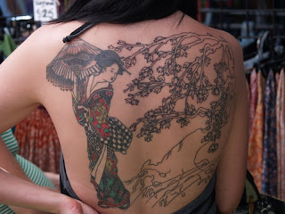 Japanese Tattoos With Image Japanese Geisha Tattoo Designs For Female Tattoo With Japanese Geisha Tattoo On The Back Body Picture 9