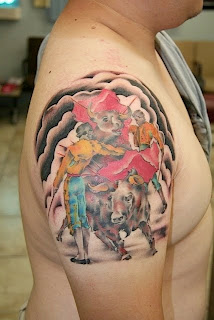 Bull Tattoos With Image Bull Shoulder Tattoo 2