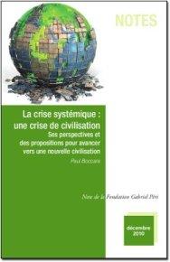 La Crise Systémique : Une crise de Civilisation de Paul Boccara