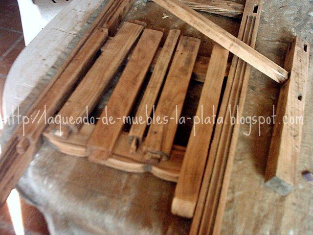 Es importante limpiar los ensambles para que luego las maderas encolen