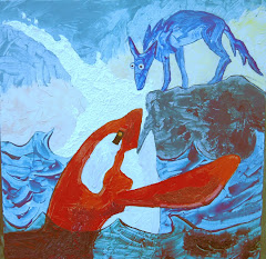 Blue Coyote & Red Orca