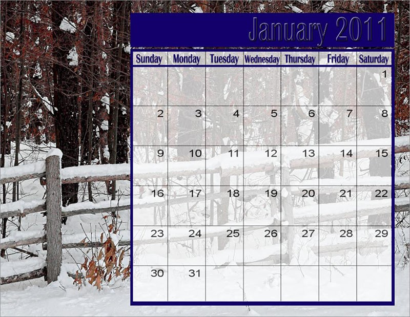 photography blography photoshop calendar template for 2011 in psd