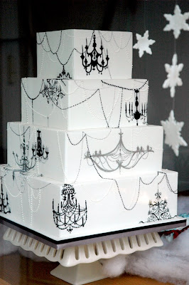 White Chandelier Display Cupcake Stand | ThisNext