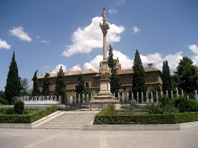Arte e historia de espa a festividad de la inmaculada for Jardines triunfo granada