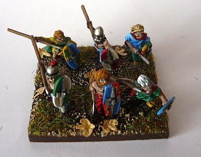 (DBA) Ancient British Warband6