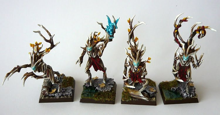 Skavenblight's Wood Elves Dryad01