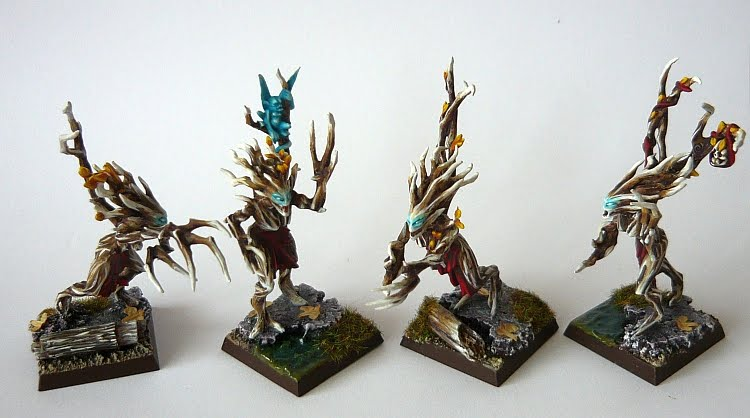 Skavenblight's Wood Elves Dryad05