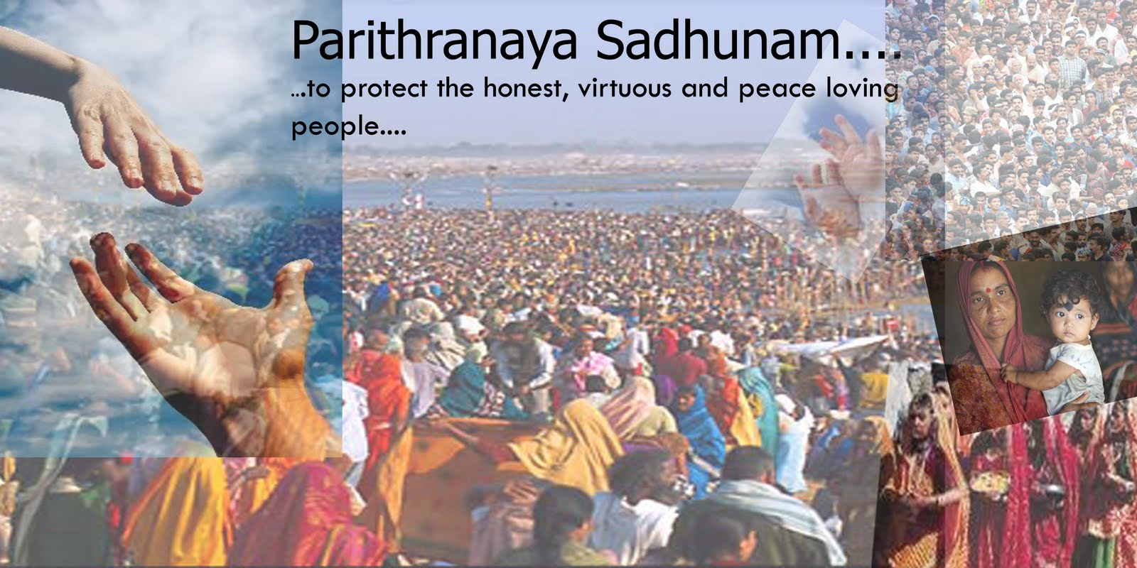 Parithranaya Sadhunam..........