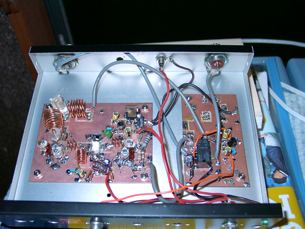 20w Vhf Linear Amplifier 2sc1946 50 Mhz Rf Circuits 30watt Circuit For Fm Broadcast Band This
