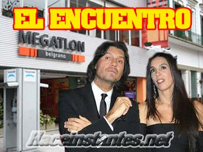 Marcelo Tinelli y Paula Robles