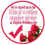 WE ARE PART OF THE ETHICAL WEDDING SUPPLIER PLEDGE
