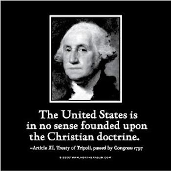 George Washington Christian Nation