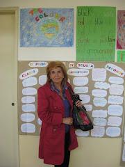 La VPresidente  Ins. Ketti Concetta BOSCO alla Scuola di Via Valdagno Milano.. una bella REALTA'!
