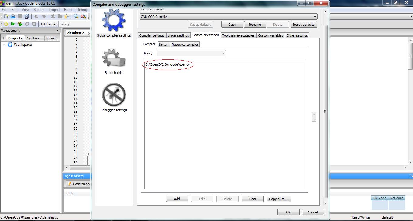 How to setup CodeBlocks for OpenCV programs | OPEN SOURCE REVOLUTION