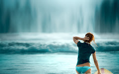 Surf Girl Hd Widescreen Wallpapers 1280x800