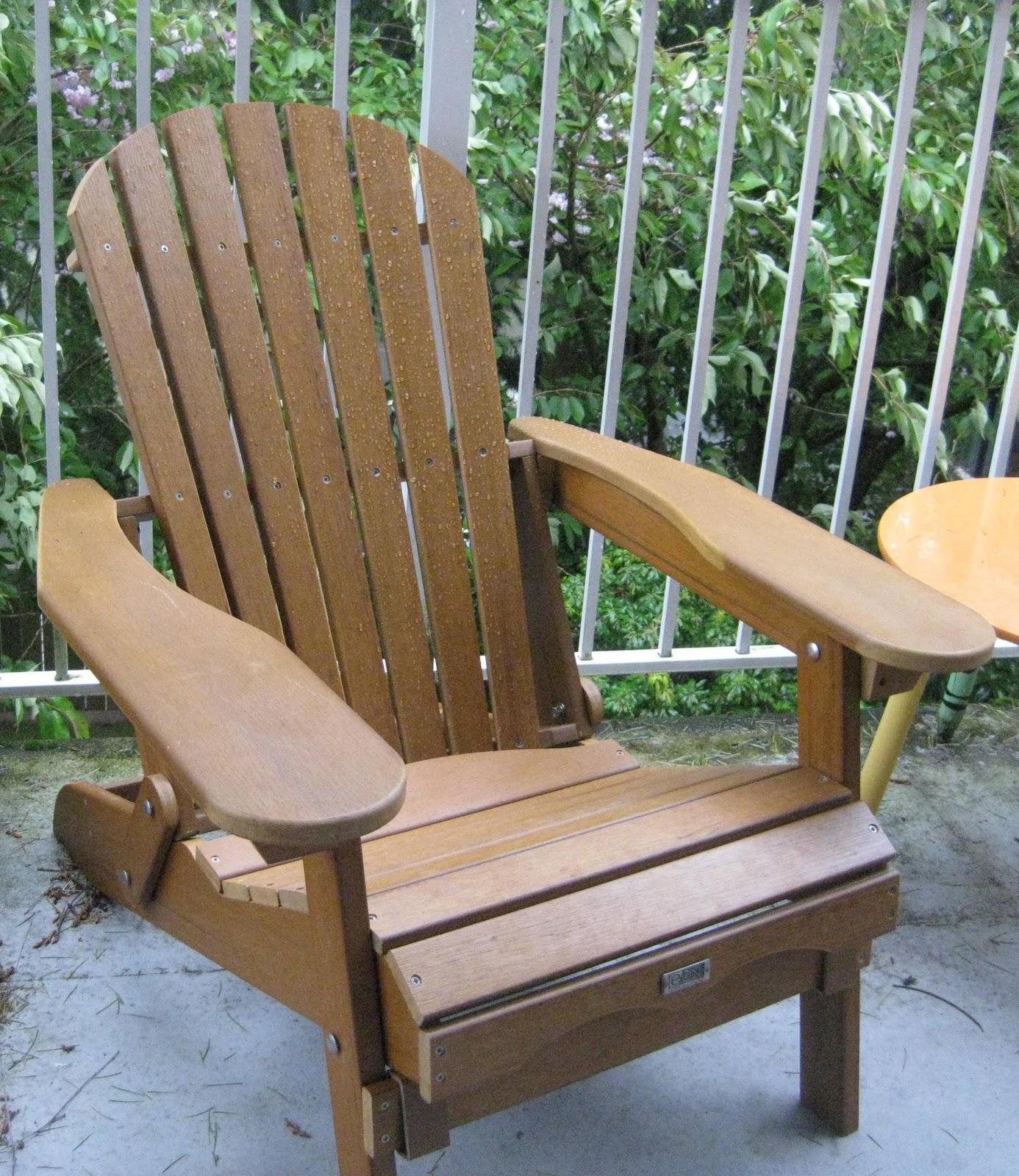 Welcome To My New Adirondack Chairs.