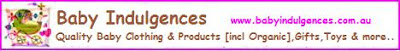 Save 10% with your online orders with Baby Indulgences
