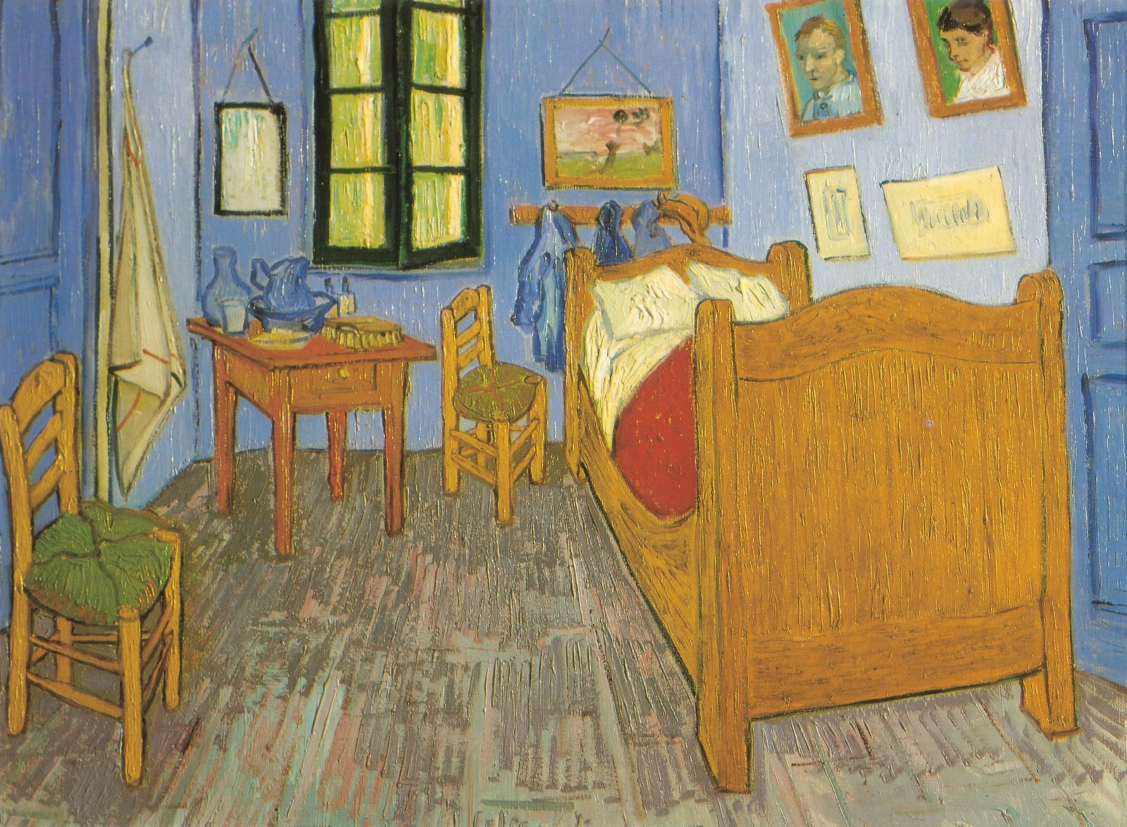 sauvage27: CAMERA DA LETTO (Bedroom in Arles) - Vincent Van Gogh
