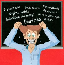 O CARB é solidário a luta dos professores e funcionários demitidos pela UNIVALI!