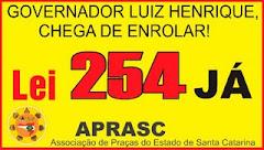 O CARB é contra a criminalização da luta legítima dos praças e da APRASC!