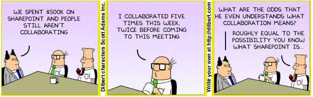 SharePoint - Deeper than out of the box: Dilbert @ SharePoint