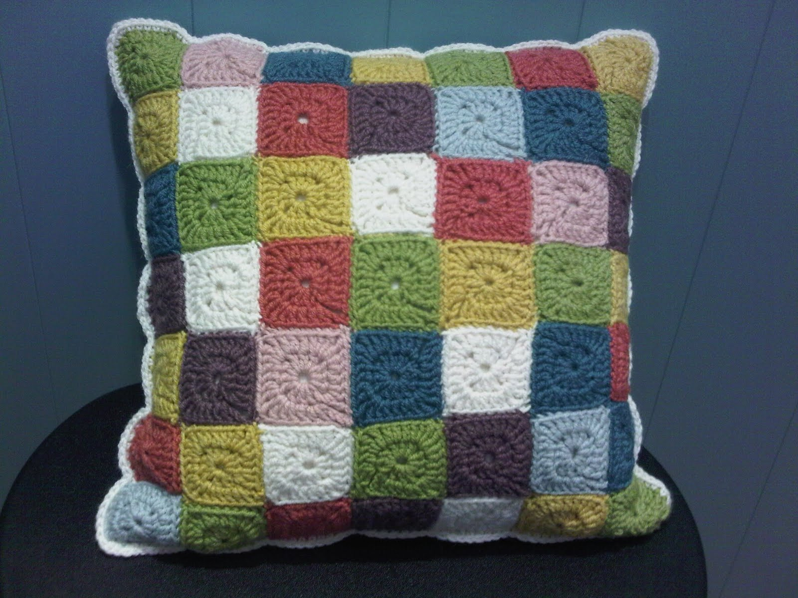 patchwork/crochet mash-up