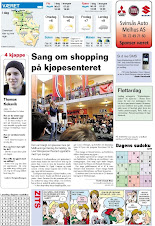 """Sang om shopping på kjøpesenter"""