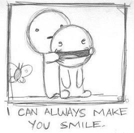 i can alwayz make u smile....