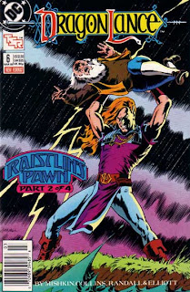 DC/Dragonlance comic, issue 6