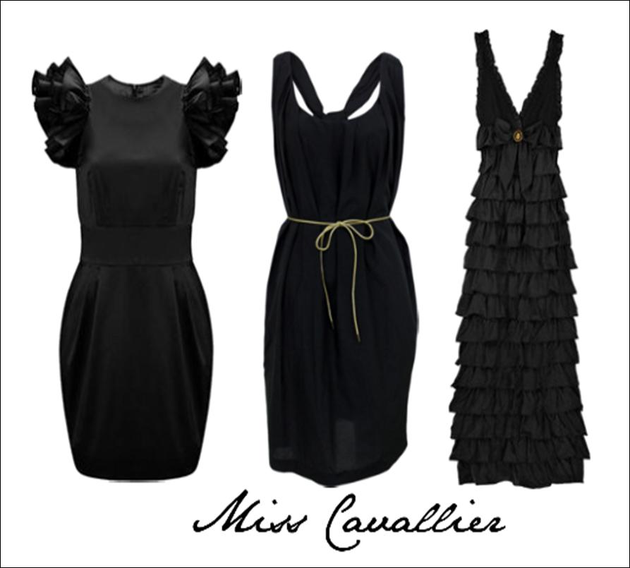 Complementos para vestido negro boda