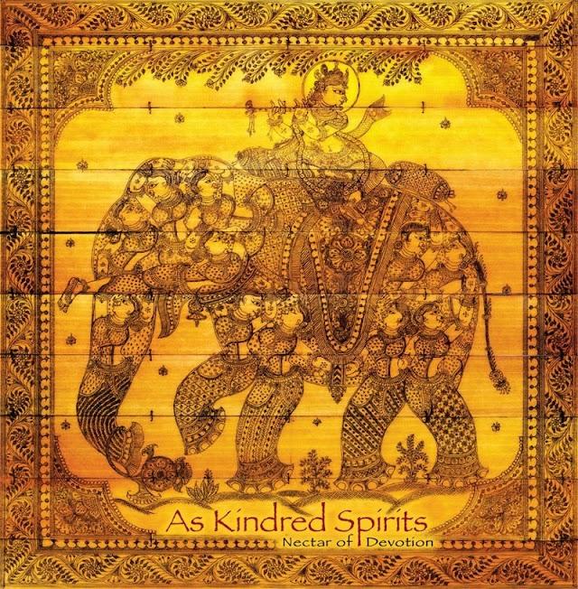 As kindred spirits. Nectar of devotion Tip!!