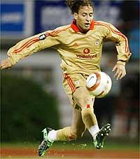 Joao Pereira con el Benfica