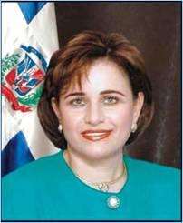 VICE PRESIDENTA DE LA CAMARA DE DIPUTADOS DE LA REPUBLICA DOMINICANA