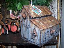 MOONSHINE TOOL SHED BIRDHOUSE